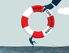 Debt Consolidation: Life raft you've been waiting for?