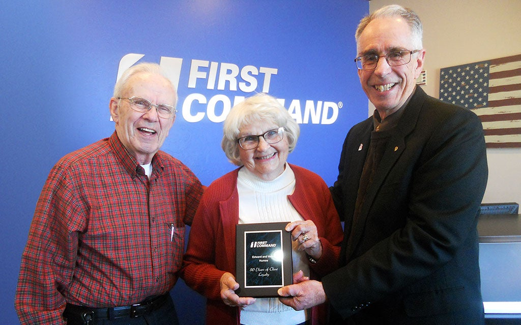 Couple Marks 50 Years with First Command