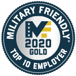 2020 Military Friendly® Top 10 Gold Employer