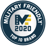2020 Military Friendly® Top 10 Brand