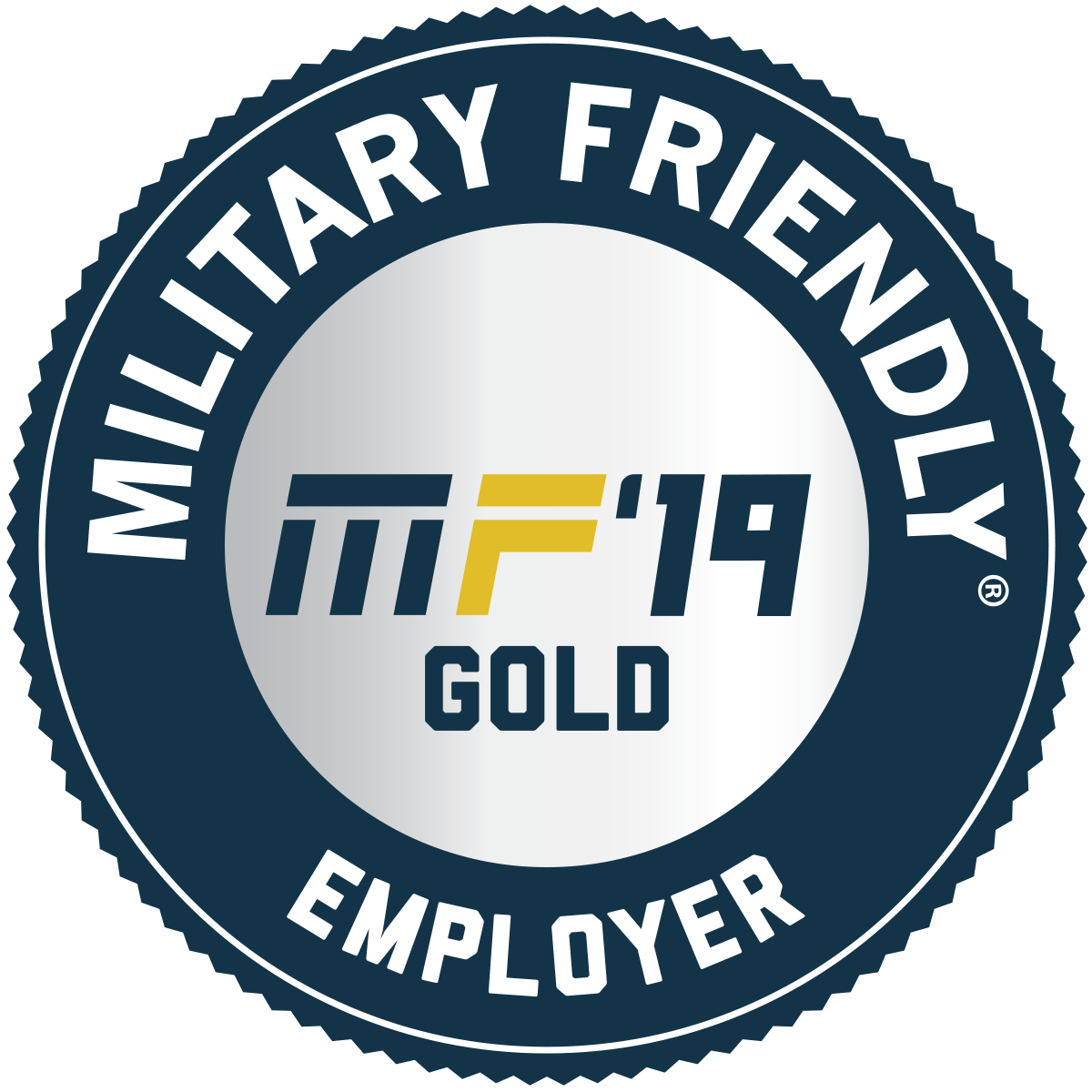 2019 Military Friendly® Gold Employer
