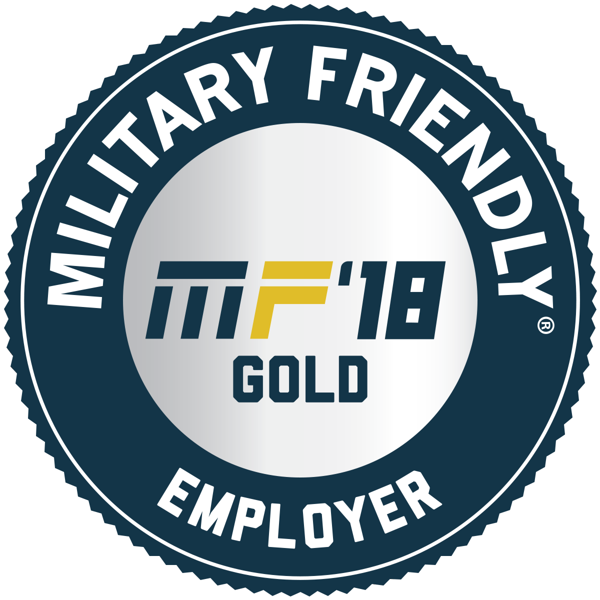 2018 Military Friendly® Top 10 employer